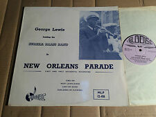 GEORGE LEWIS/Eureka Brass band-La Nouvelle Orleans Parade-LP-MLP 12-101 - UK