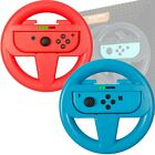Orzly Steering Wheel for Nintendo Switch - Twin Pack (Red & Blue)