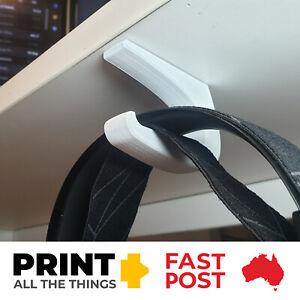 Under Desk Headphone Hanger Mount Holder Stand