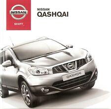 Prospekt / Brochure Nissan Qashqai 07/2012