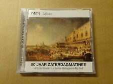 CD / NTR: LUISTER - 50 JAAR ZATERDAGMATINEE - VIVALDI