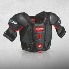 "New CCM Crazy Light U+ CL ice hockey shoulder pads Senior small s chest 34""-38"""