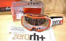 MASCHERA da SCI ZERORH+ 933 05 ROSSO BIANCO OLIMPO SEE ICE Ski Goggles Ski Mask