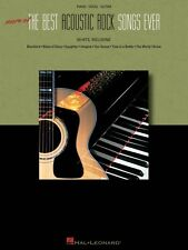 More of the Best Acoustic Rock Songs Ever Sheet Music Piano Vocal Guit 000311738