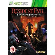 Resident Evil Operation Raccoon City XBOX 360 video juego de la versión original de Reino Unido