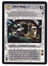 SWCCG Star Wars CCG • Artoo & Threepio R2-D2 C-3P0 • REFLECTION II 2 • RARE