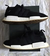 Adidas NMD R1 Primeknit Gum Pack Mens Athletic Shoes Core Black Size 10 BY1887