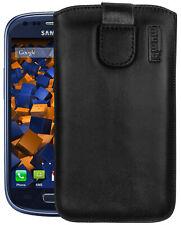 mumbi Leder Tasche f. Samsung Galaxy S3 mini Etui Hülle Case Cover Bumper Schutz