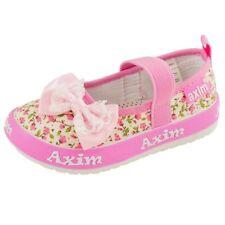 Girls Kids Toddler Canvas shoes trainers size 3-7 UK  BALLERINAS Pumps Plimsolls