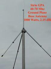 Sirio GPA 40-70 Mhz 6 Meter ground plane base antenna  - 1000 Watts, 2.15 dBi