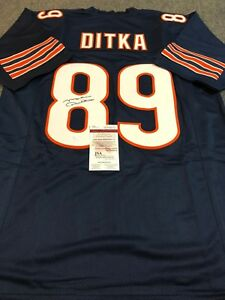 CHICAGO BEARS MIKE DITKA AUTOGRAPHED SIGNED JERSEY JSA  COA