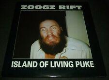 ZOOGZ RIFT 33RPM LP ISLAND OF LIVING PUKE ROCK EXPERIMENTAL PUNK SST