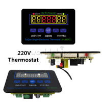 XH-W1411 AC 220V Thermostat 10A LED Digital Temperature Controller MCU Switch