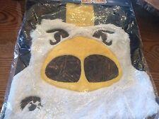 University Of Iowa Hawkeyes drawstring cinch bag with fleece hawkeye on front Su