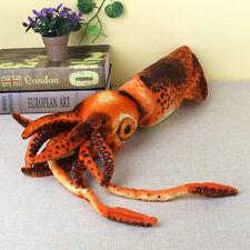 "Giant Squid 31.5"" Plush Stuffed Sea Animal Toy Cushion Pillow Idea Kids Gift"
