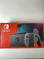 Nintendo Switch 32GB Game Console V2 with Gray Joy‑Con Brand NEW Sealed In Hand