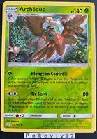 Carte Pokemon ARCHEDUC 20/236 Holo REVERSE Soleil et Lune 12 SL12 FR NEUF