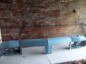 OLDSMOBILE 88 98 FRONT HEADER PANEL NOSE GRILL MOLDING SURROUND MOLDING UPPER