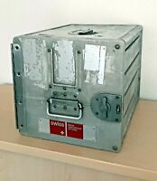 swiss intl. air lines | standard trolley catering box | alu | atlas | container