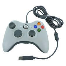 Controlador USB con cables para Xbox 360 Slim Compatible Joypad-Blanco   ZedLabz