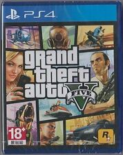 MSRNY PS4 Grand Theft Auto V GTA5 Asian version Chinese + English subtitle