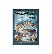 Warhammer 40k Space Wolves Fenrisian Wolves NIB