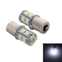 2x 12V 1156 BAY15S 13 SMD LED ampoule de voiture blanche frein stop feu arr OBB