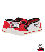 New Canvas Trainers Low Shoes Girls' Shoes Minnie Mouse Red Slipper 25 - 30