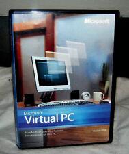 Virtual PC MUST READ/VIP DESCRIPTION BELOW w/Case&Prod Key by MS Windows