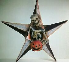 Vtg Halloween Style Skeleton Star Wall Hang Bethany Lowe Vergie Lightfoot New