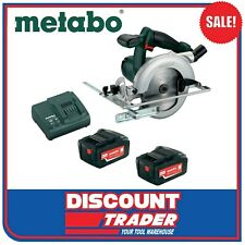 Metabo 18V 5.2Ah Lithium-Ion Cordless Circular Saw Kit KSA 18 LTX AU60226819A