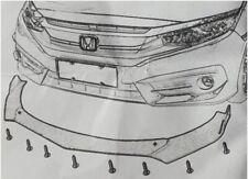 CARBON paint Frontspoiler front splitter für Skoda Rapid flaps diffusor lippe