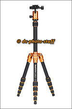 MeFoto BackPacker A0350Q0 Aluminium Tripod Kit * ORANGE * 13 lbs loading