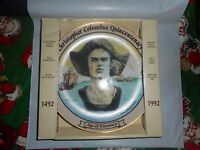1492-1992 Christopher Columbus Quincentenary Age of Discovery Porcelain Plate