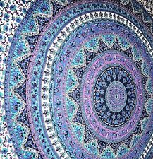 Indian Twin Hippie Mandala Bedspread Wall Hanging bohemian Ethnic Throw Tapestry