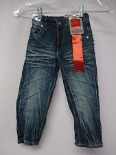 "NWT Toddler's Boy's ""GS 115 Jeans"" Denim Jeans Size 4T Dark Blue #821D"