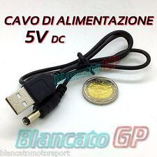 Câble de Alimentation USB Connecteur Dc 5.5 x 2.1 50cm Jack WD Power