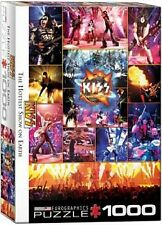 Kiss The Hottest Show On Earth 1000 piece jigsaw puzzle 680mm x 490mm (pz)