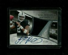 JaMarcus Russell 2007 Exquisite 3-Color PRIME PATCH Auto Rookie RC #/99! Raiders