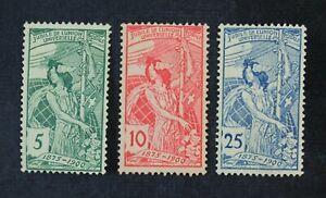 CKStamps: Switzerland Stamps Collection Scott#98-100 Thin Mint H OG #98 NG