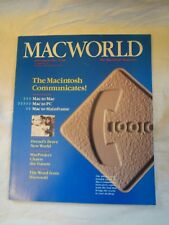Macworld The Macintosh Magazine Issue Vol 1 No 3 July August 1984