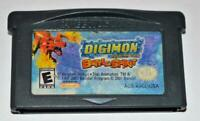 *DIGIMON: BATTLESPIRIT NINTENDO GAMEBOY ADVANCE SP GBA