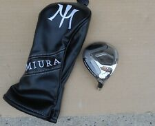 New Miura Golf SIT 5-wood Head only or with Cover 18* loft .335 Fairway metal