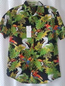 NEW mens Cactus Man Ricky Singh Slim Fit Casual Shirt Medium