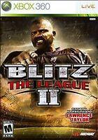 Blitz: The League II 2 (Microsoft Xbox 360, 2008) New Sealed
