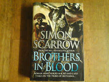 BLOOD BROTHERS SIMON SCARROW 1ST / 1ST HB FINE
