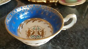 Crested Royal Grafton pattern K6567 Beautiful decorative footed Teacup vintage