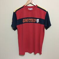 Adelaide United A-League Soccer Football Training Shirt Jersey Mens Small