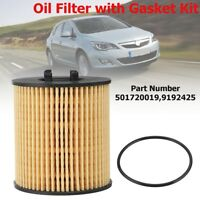 Oil Filter Paper Element Type For Vauxhall Opel Corsa C 1.2 1.4 Twintop 1.0