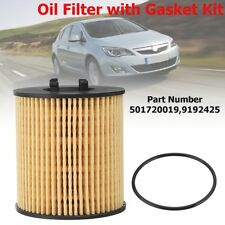 Oil Filter Paper Element Type For Vauxhall Opel Corsa C 1.2 1.4 Twintop 1.0 16V